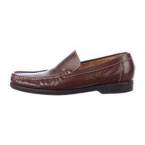 a.testoni Leather Loafers